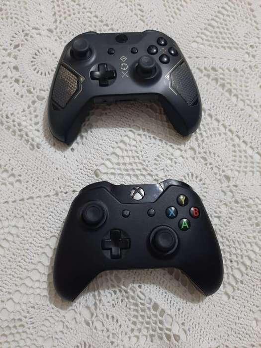 Controles xbox one s y primera generación.