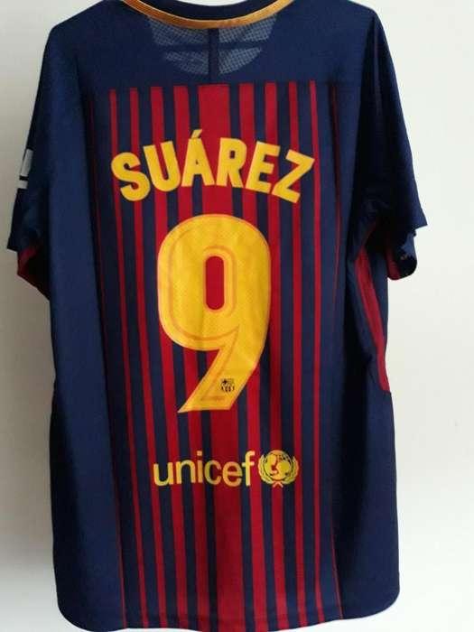 Camiseta de Barcelona Luis Suarez