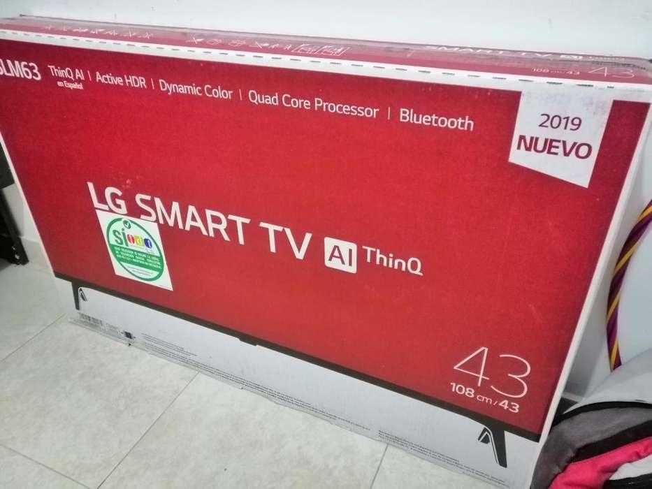 Vendo Tv Lg Smartv 43 Pulgadas
