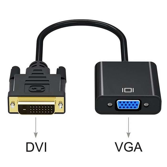 Convertidor Activo Dvi D 241digital A Vga analogo