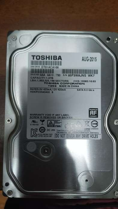 Disco Duro 750gb
