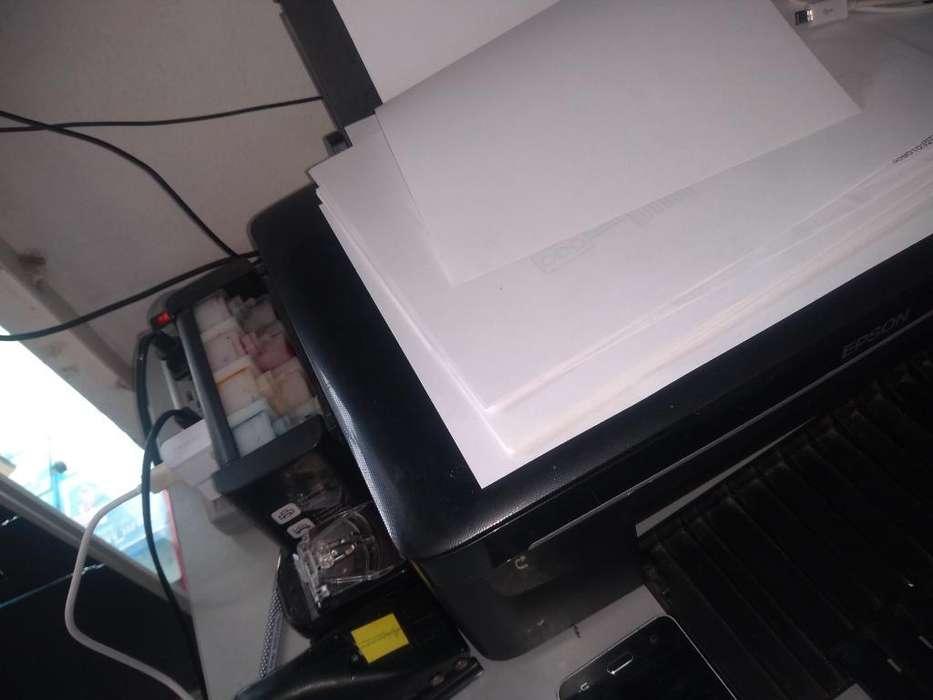 Epson L200 Sistema de Tinta Continuo