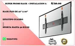 FABRICANTES de RACKS ARTICULADOS GIROS DE 180GRADOS PARA TVs PLANOS O CURVOS A BUEN PRECIO.. OJO INSTALACION GRATIS