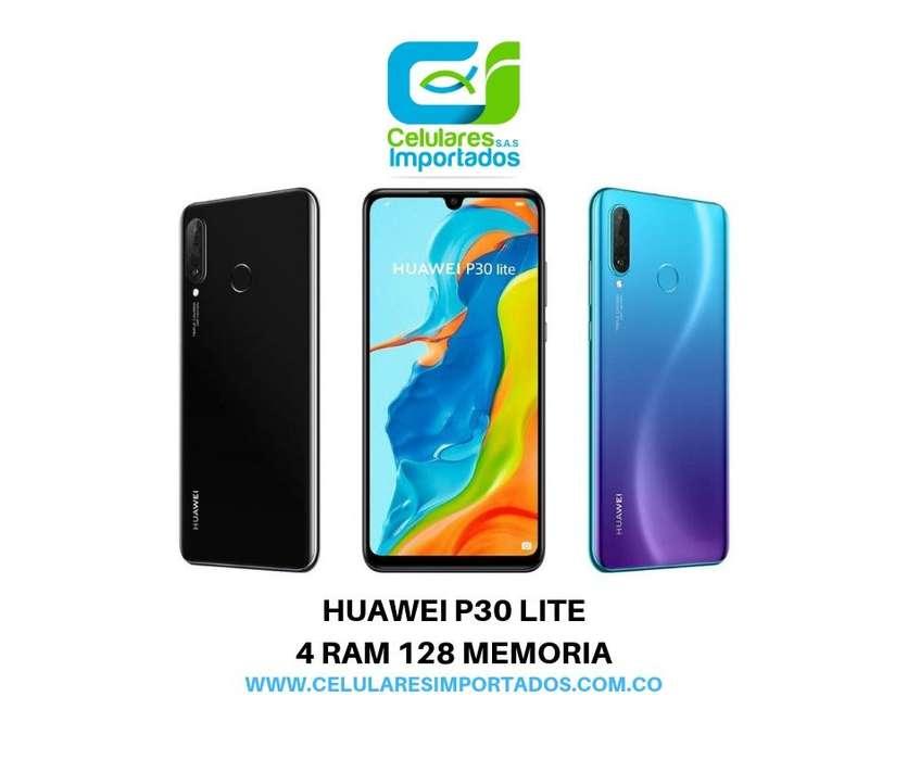 Huawei P30 Lite Nuevos,Vidrio Estuche En Caja Sellada Originales Factura legal Garantia Domicilios