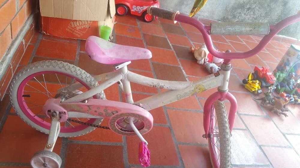 Cicla/ Bicicleta Barbie