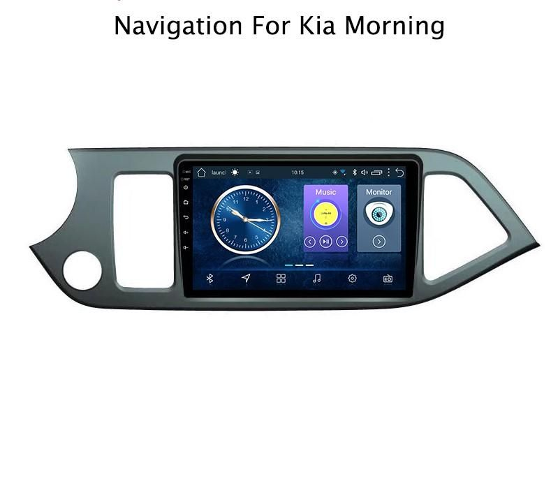 ANDROID KIA PICANTO 2011 2015 AUTORADIO GPS WIFI