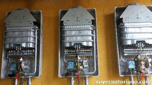 TECNICOS EN REPARACION DE CALEFONES TERMOSTATOS A GAS ELECTRICOS BOMBAS DE AGUA PLOMERO EN FUGAS DE COBRE 0983891977