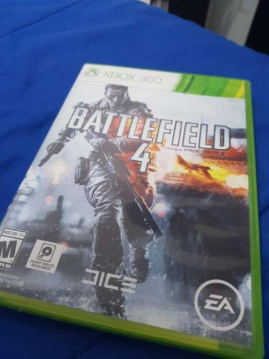 Battlefield 4 Xbox 360, Original. Nuevo