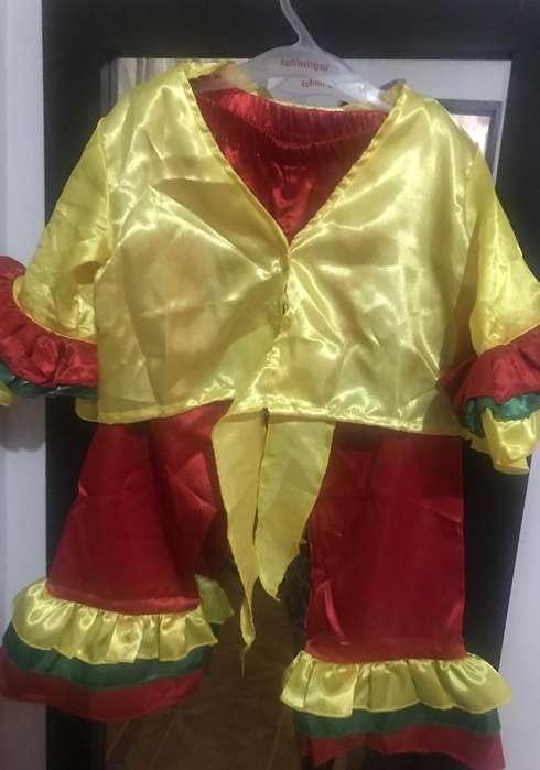 Disfraz de Carnaval Talla 5T