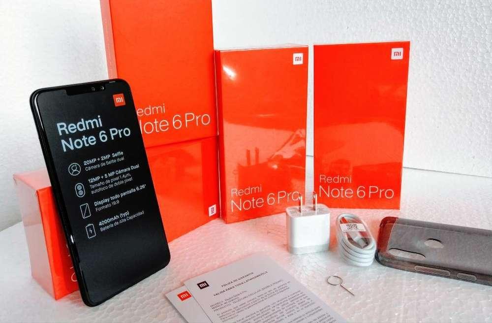 Xiaomi Note 6 Pro de Paquete Libre 64 Gb