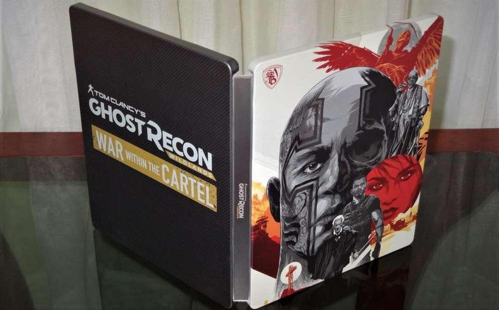 Steelbook Caja metálica de Tom Clancy's Ghost Reacon Wildlands: War Within The Cartel Juego NO incluido