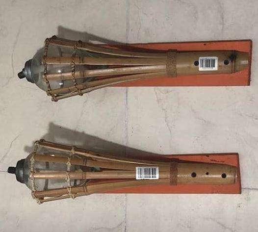 Venta 2 Antorchas de Bambú para Colgar