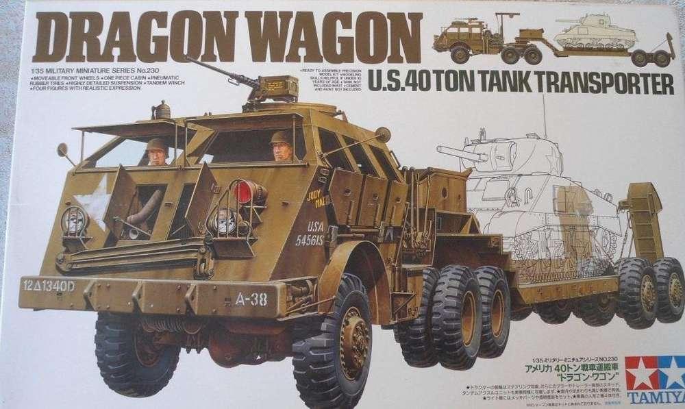 Tamiya Dragon Wagon U.S. 40 ton tank transporter