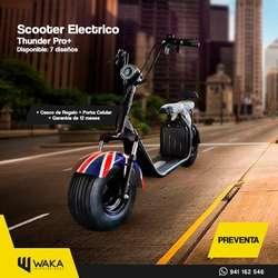 Moto Eléctrica Thunderpro Bateria Removible 2019 Lima Tienda