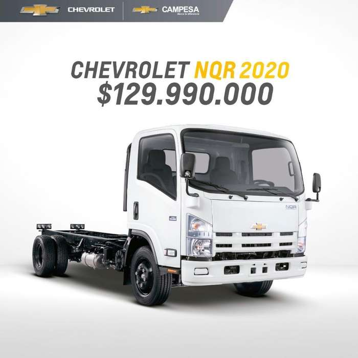 Chevrolet Nqr Modelo 2020 Frenos 100aire