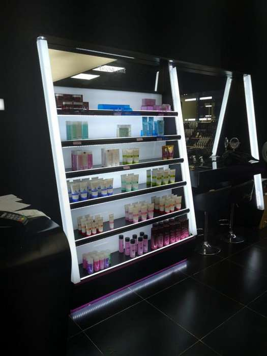 <strong>estantes</strong> o Vitrinas de exhibicin de maquillaje