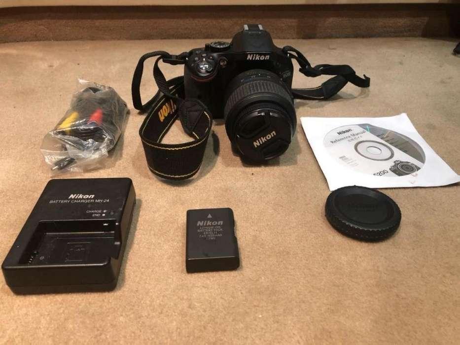 Camara Nikon D5200 18-55mm Full Hd 24mp En Stock !!!