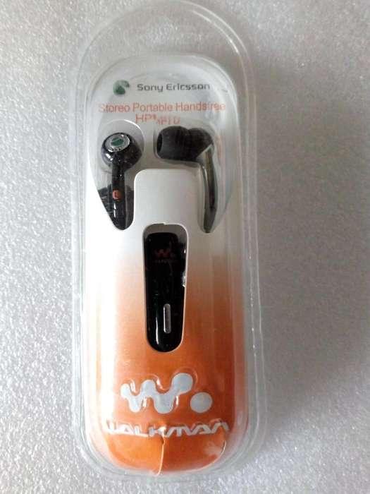 Walkman. Audífonos Sony Ericsson. Hpm70