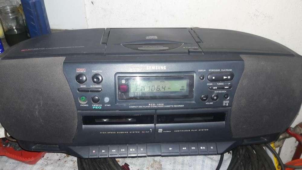 RADIOGRABADOR SAMSUNG CD