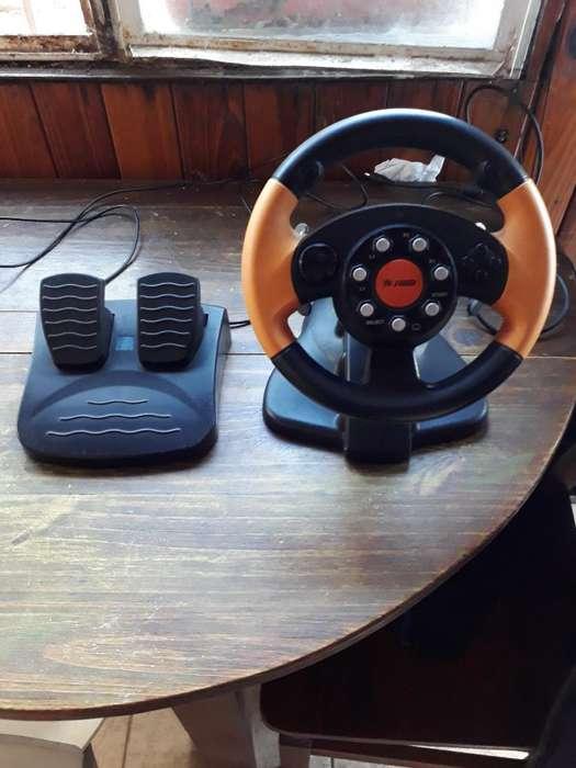 Volante Y Pedalera para Playstation O Pc