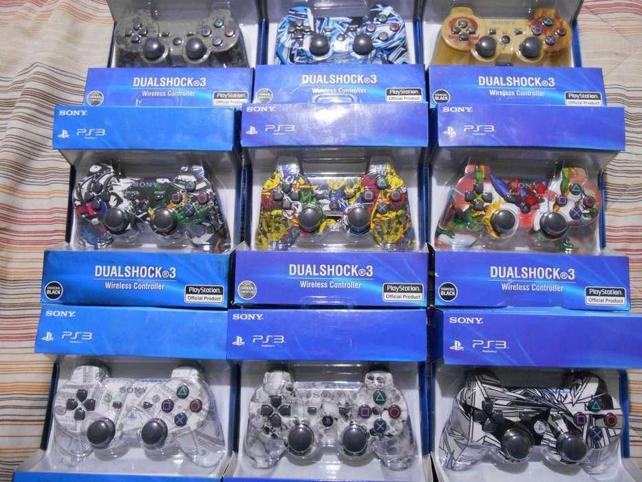 Mandos PS3 NUEVOS MODELOS Dualshock Vibracion Juegos Cable HDMI Cargador Joystick Controles Mando play
