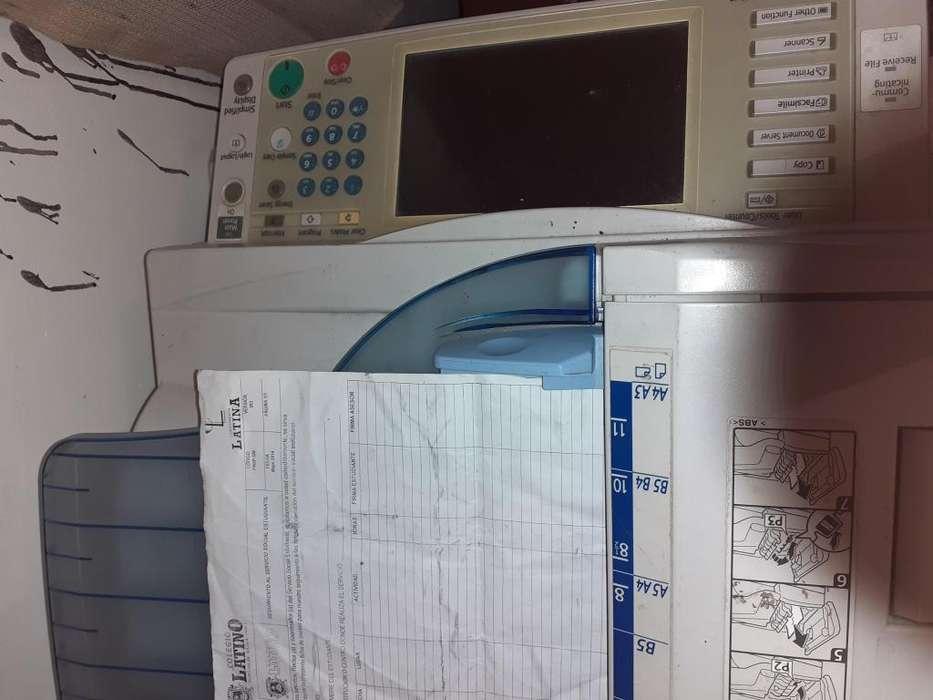 Se vende fotocopiadora ricoh mp 4001 con los insumos nuevos
