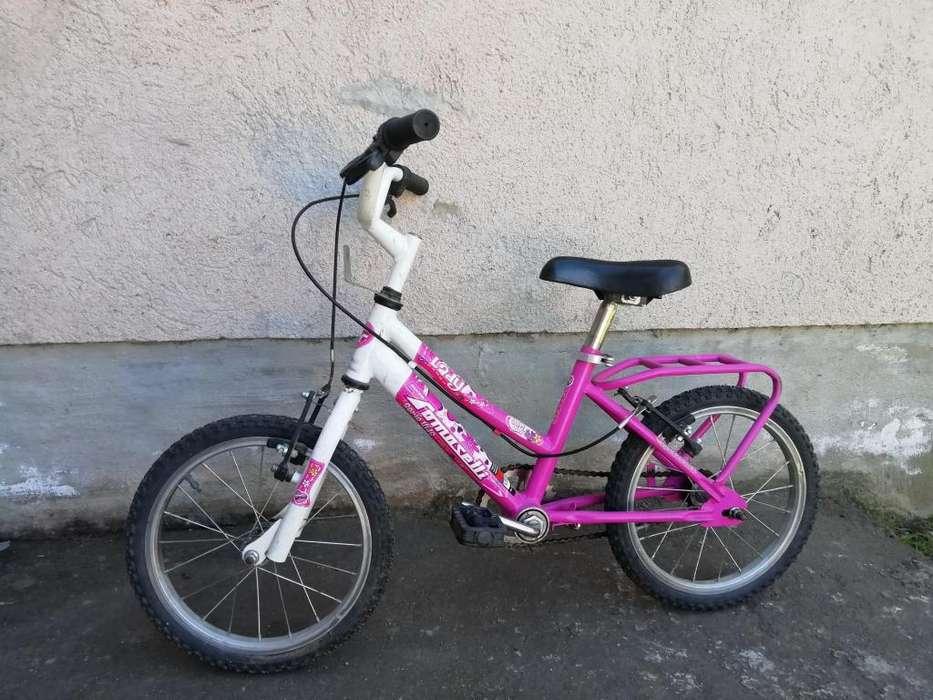Bicicleta Usada Niña Tomaselli Lady R-14
