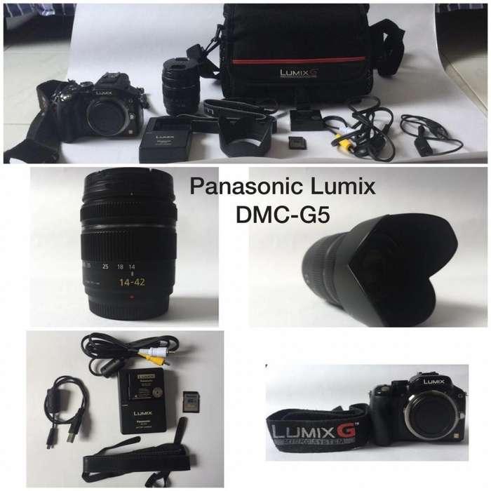 Cámara PANASONIC LUMIX DMC-G5