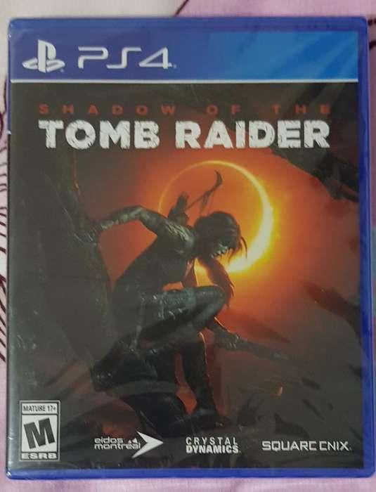 Shadow Of The Tomb Raider Ps4 Sellados