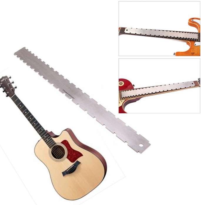 Regla Con Muescas Para Luthier Reparaciones Calibraciones