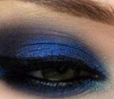 Sombra azul matizada
