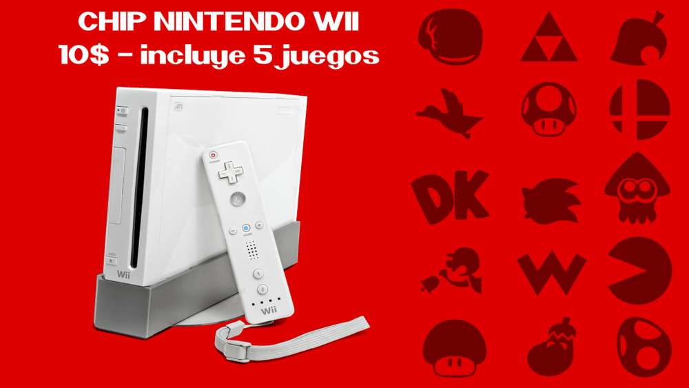 Chip virtual Nintendo Wii