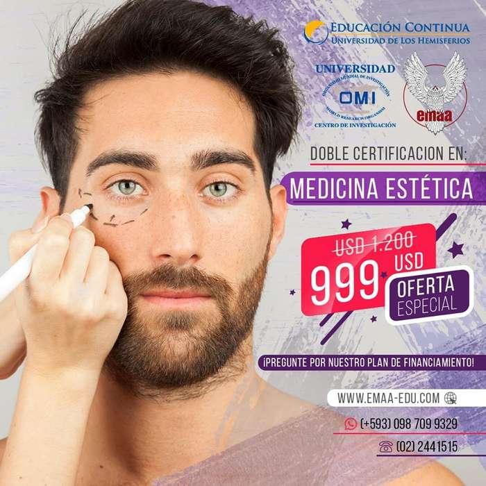 <strong>diplomado</strong> en Medicina Estética