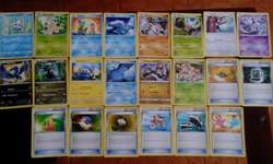 lotes de 50 cartas pokemon tcg a 10 soles