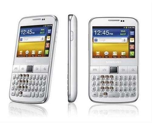 Celular Samsung Pro Blanco - Teclado/táctil (impecable)
