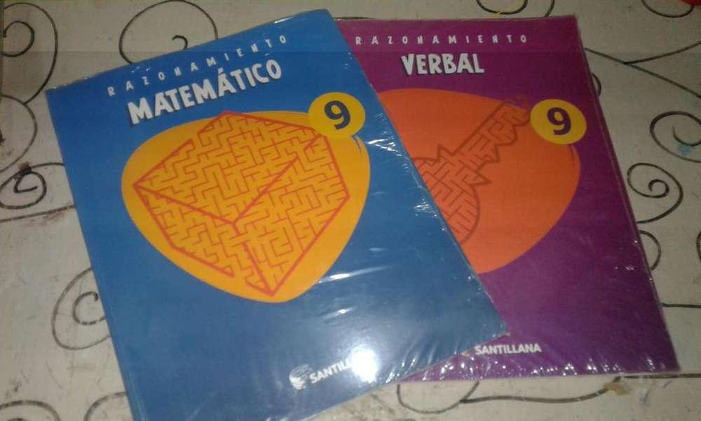 Libros de santillana razonamiento matemtico y verbal
