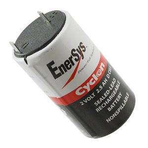 Enersys Cyclon 2v 2.5ah D Cell 08100004 Batería Recargable