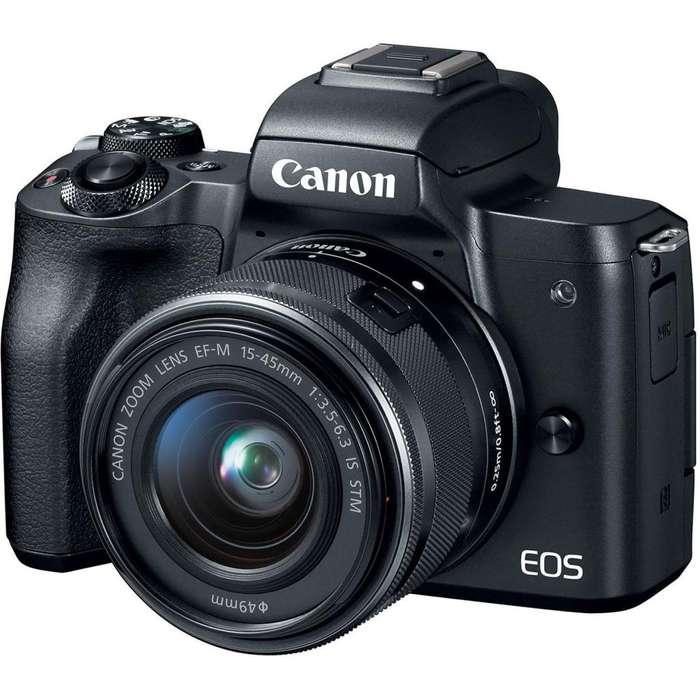 Canon M50 kit 15 45 mm - Nuevas con gtia