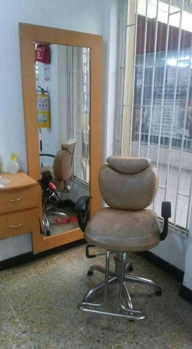 mobiliario de salon de belleza