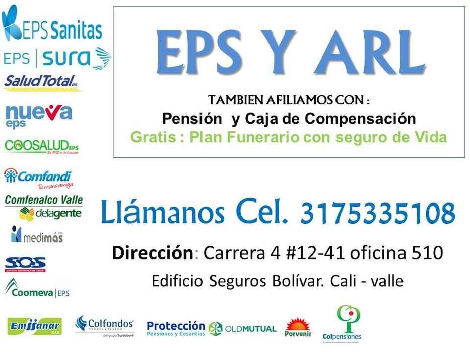 SEGURIDAD Y SALUD AFILIATE EPS Y ARL EN CALI VALLE