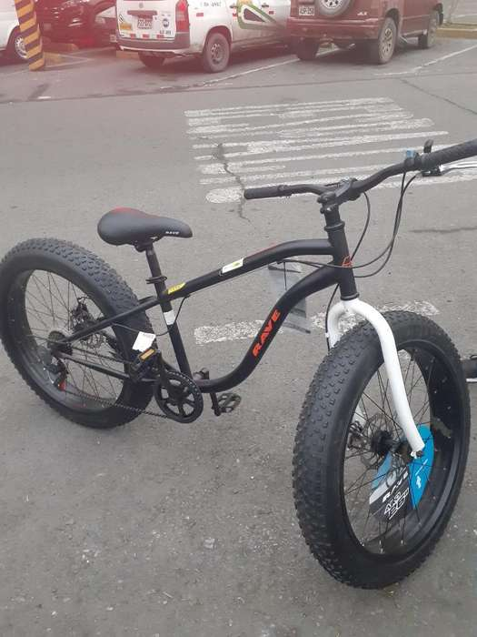 Vendo Bicicleta Rave Fat Como Nueva