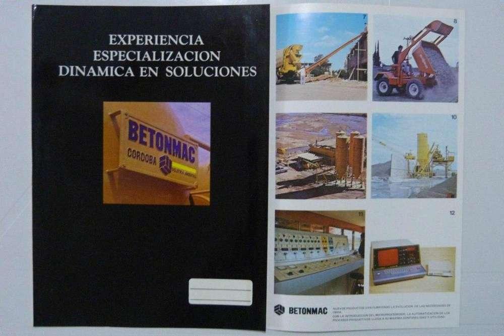 Catálogo Folleto Betonmac