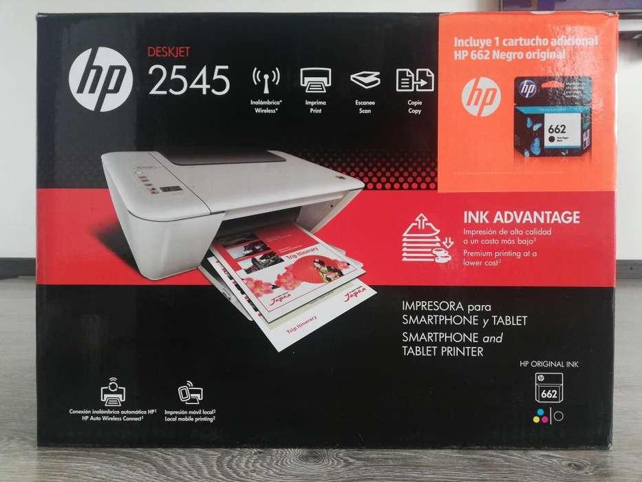Impresora Multifuncional Hp Deskjet 2545