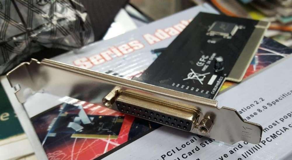 Tarjeta PCI Paralela Sk9003 Skema