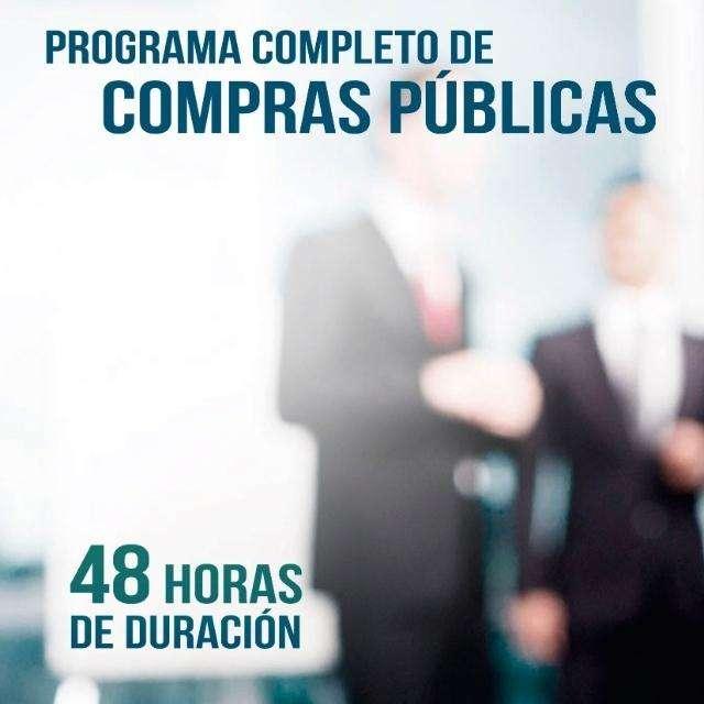 NUEVO PROGRAMA DE FORMACIÓN EN COMPRAS PÚBLICAS - 48 HORAS