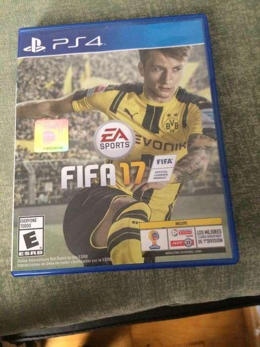 JUEGO FIFA 17 PARA PLAY 4 ORIGINAL