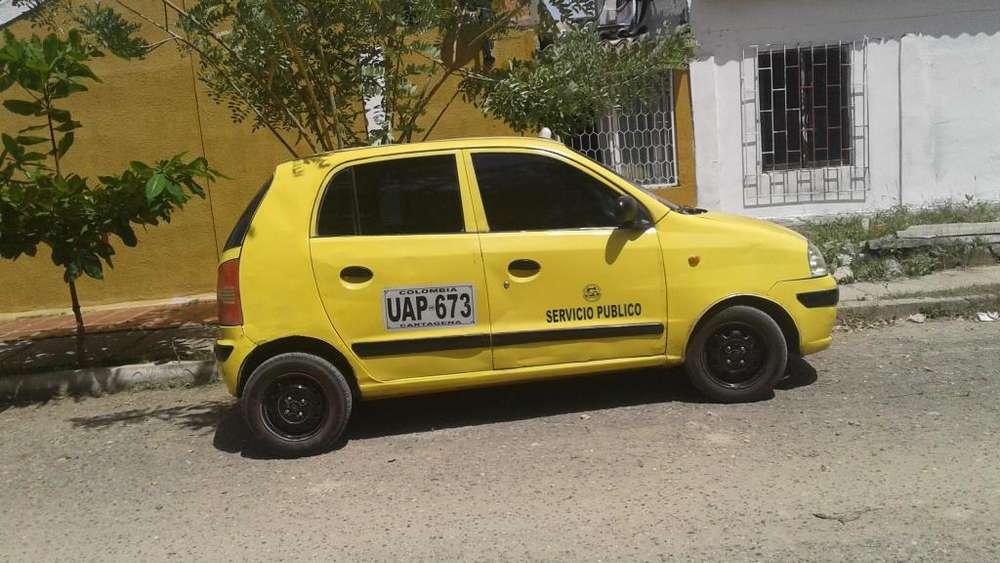 vendo taxi hyundai modelo 2008 documentacion al dia trabajando