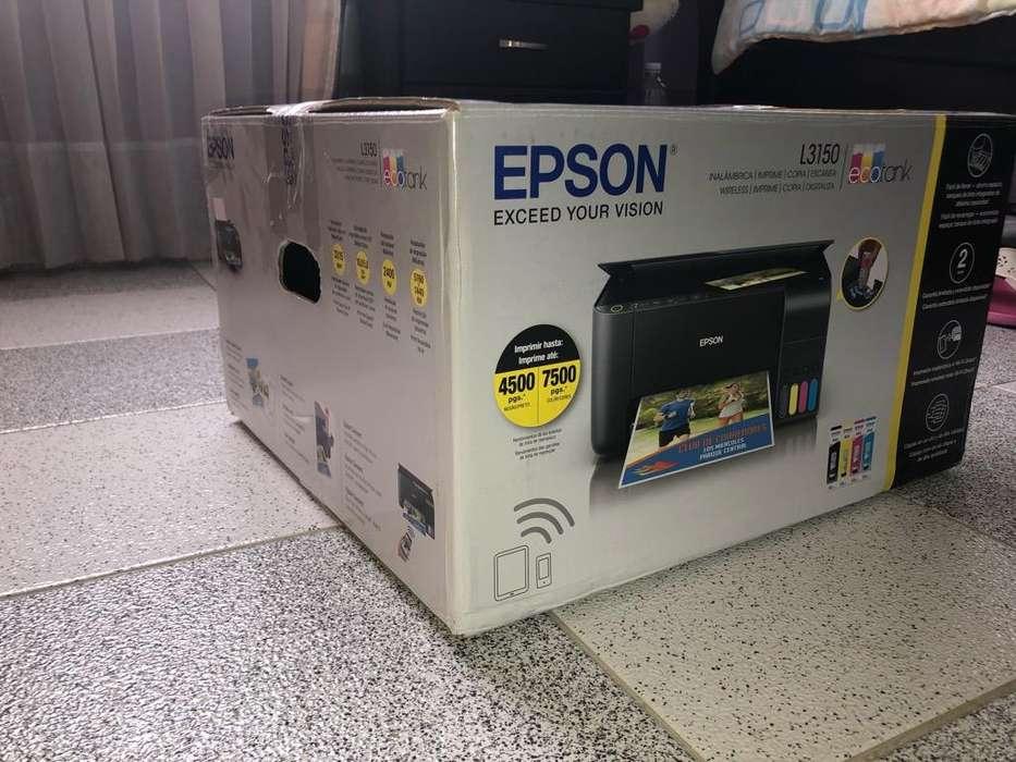 Impresora Epson L3150 con Wifi