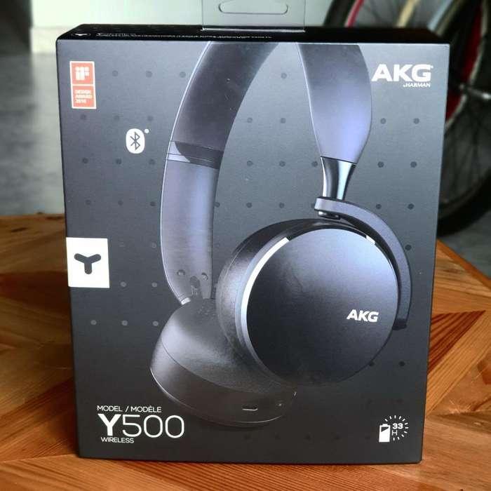 Audífono Wireless Akg 500 Nuevo Sellado