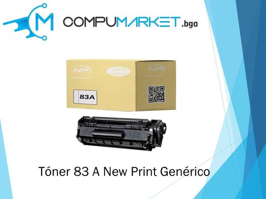 Toner 83A generico para HP New Print nuevo y facturado.